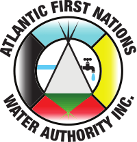The circular logo for the Atlantic First Nations Water Authority. | AFNWA
